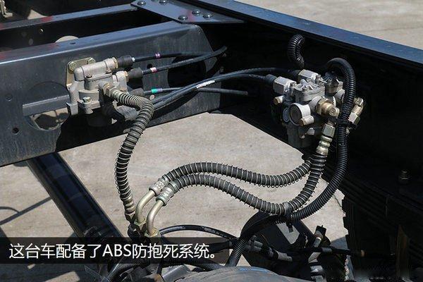 东风多利卡D9-6.8米冷藏车ABS