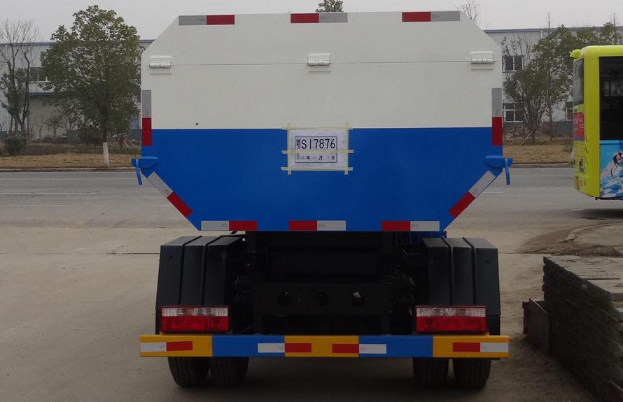 东风5方挂桶式垃圾车