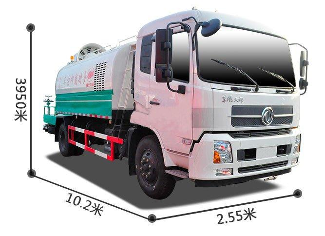 东风8吨雾炮车图片