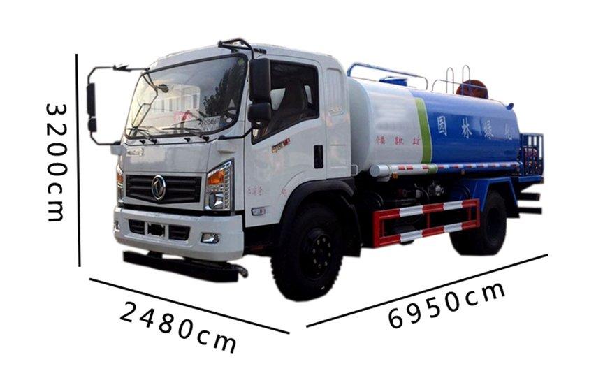 东风御虎11吨雾炮车图片