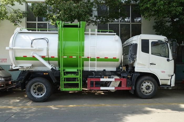 东风天锦国六餐(余)厨垃圾车图片