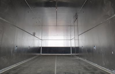 东风T3易燃液体防爆车厢体图片