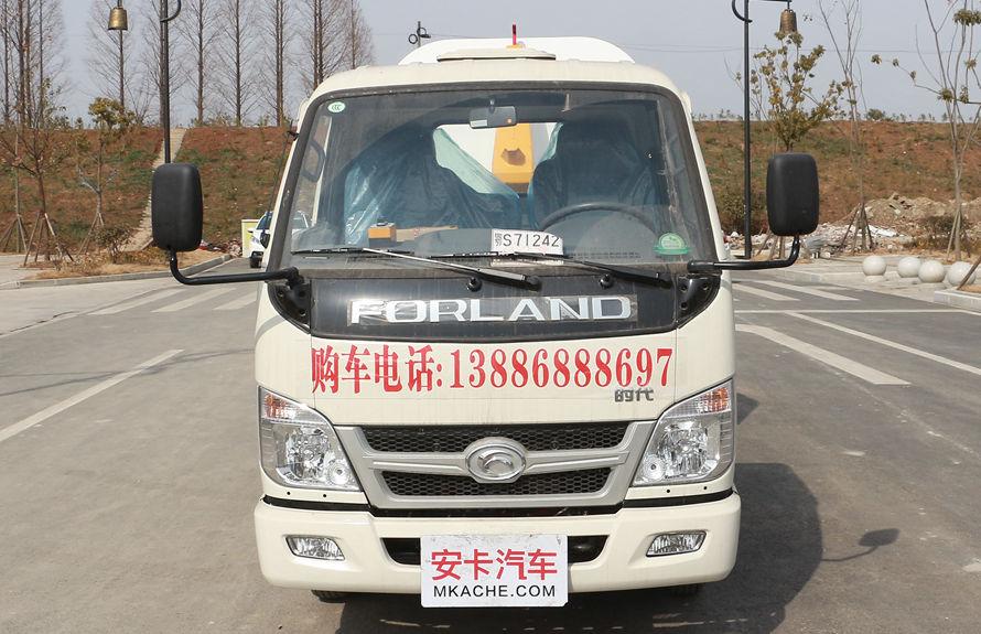 福田4方勾臂式垃圾车整车外观8