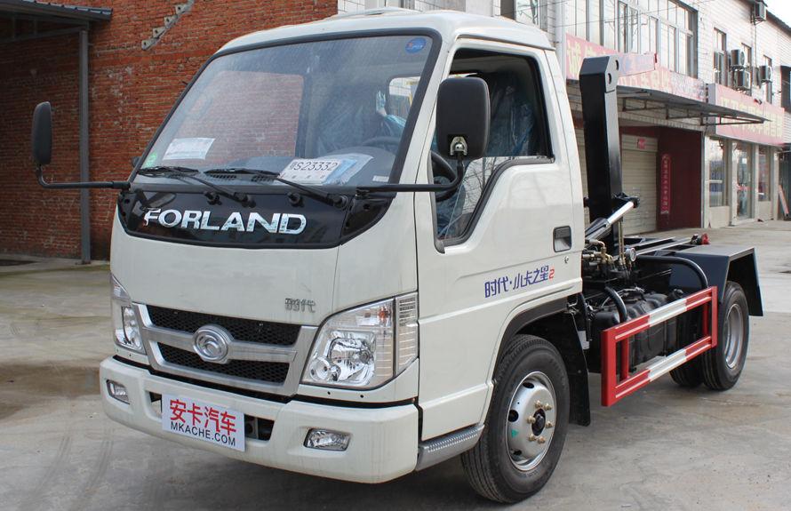 福田4方勾臂式垃圾车整车外观16